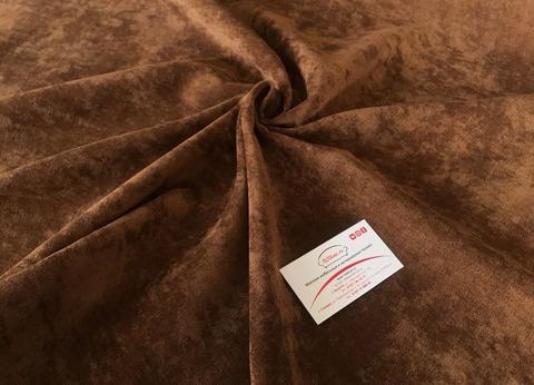 Микровельвет коричневый