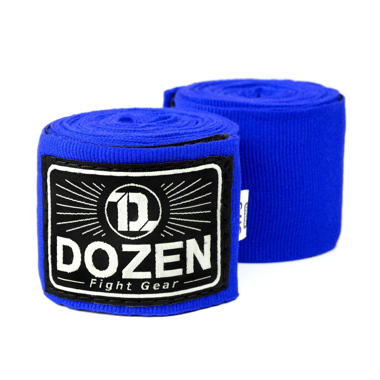 Бинты синие Dozen Monochrome Semi-elastic главный вид
