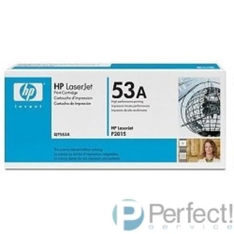 HP Q7553A Картридж ,Black{LaserJet P2015, Black, (3000 стр.)}