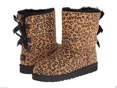 UGG Kids Bailey Bow Leopard