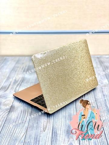 Накладка пластик MacBook Pro 13.3 Retina New /picture glitter gold/ DDC