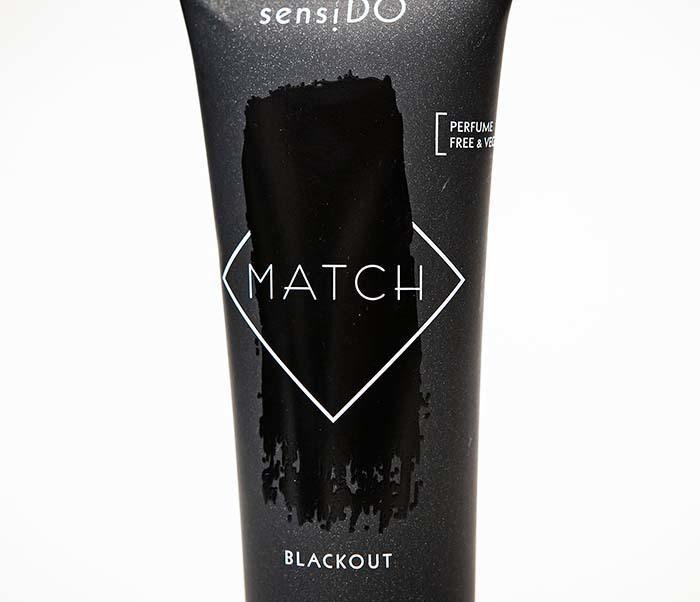 CARE165-1 Оттеночный бальзам для волос SensiDO Match Blackout (черный, 125 мл) фото 02
