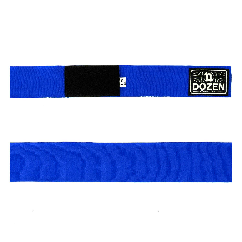 Бинты синие Dozen Monochrome Semi-elastic вид ленты