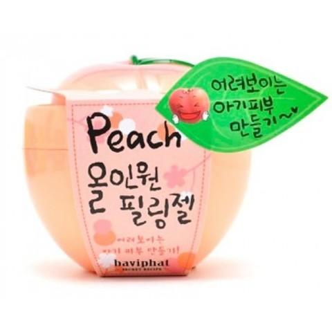 Персиковая пилинг-скатка Baviphat  для отшелушивания омертвевших клеток кожи 100 мл