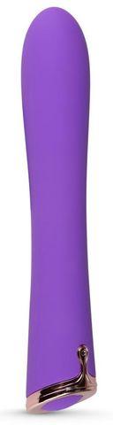 Фиолетовый вибратор The Duchess Thumping Vibrator - 20 см.