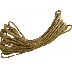 Веревка джутовая 12мм, моток 20м