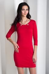 Рубіна. Практична молодіжна сукня. Червоний