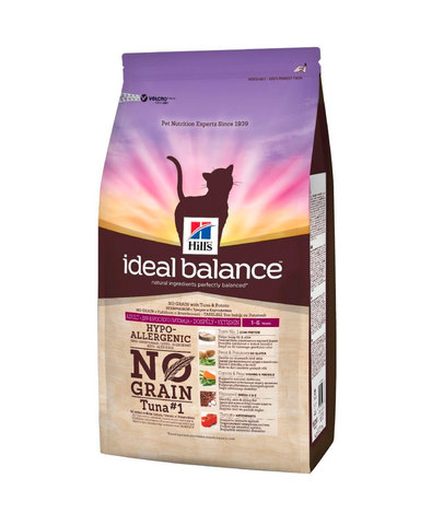 Hill's IB сухой корм для кошек (с тунцом и картофелем) 1,5кг