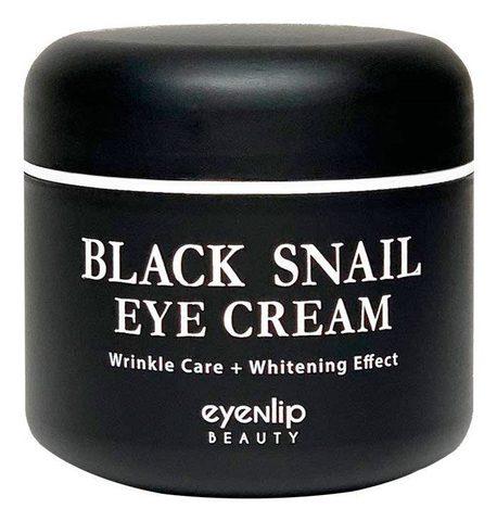Крем для кожи вокруг глаз многофункциональный Eyenlip Black Snail Eye Cream