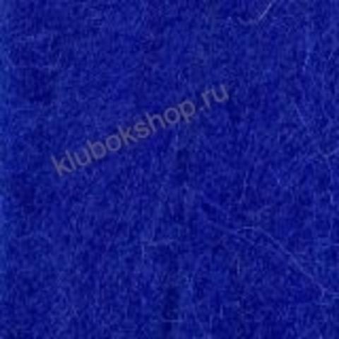 Шерсть для валяния Полутонкая (Троицкая) цвет 175 василек