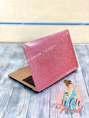 Накладка пластик MacBook Pro 13.3 Retina New /picture glitter pink/ DDC