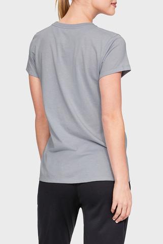 Женская серая футболка VERTICAL WM GRAPHIC CLASSIC Under Armour