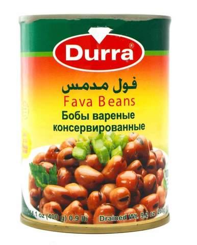 Бобы Фуль, Durra, 400 г