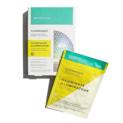 Patchology Маска для сияния кожи FlashMasque® Illuminate 5 Minute Sheet Mask