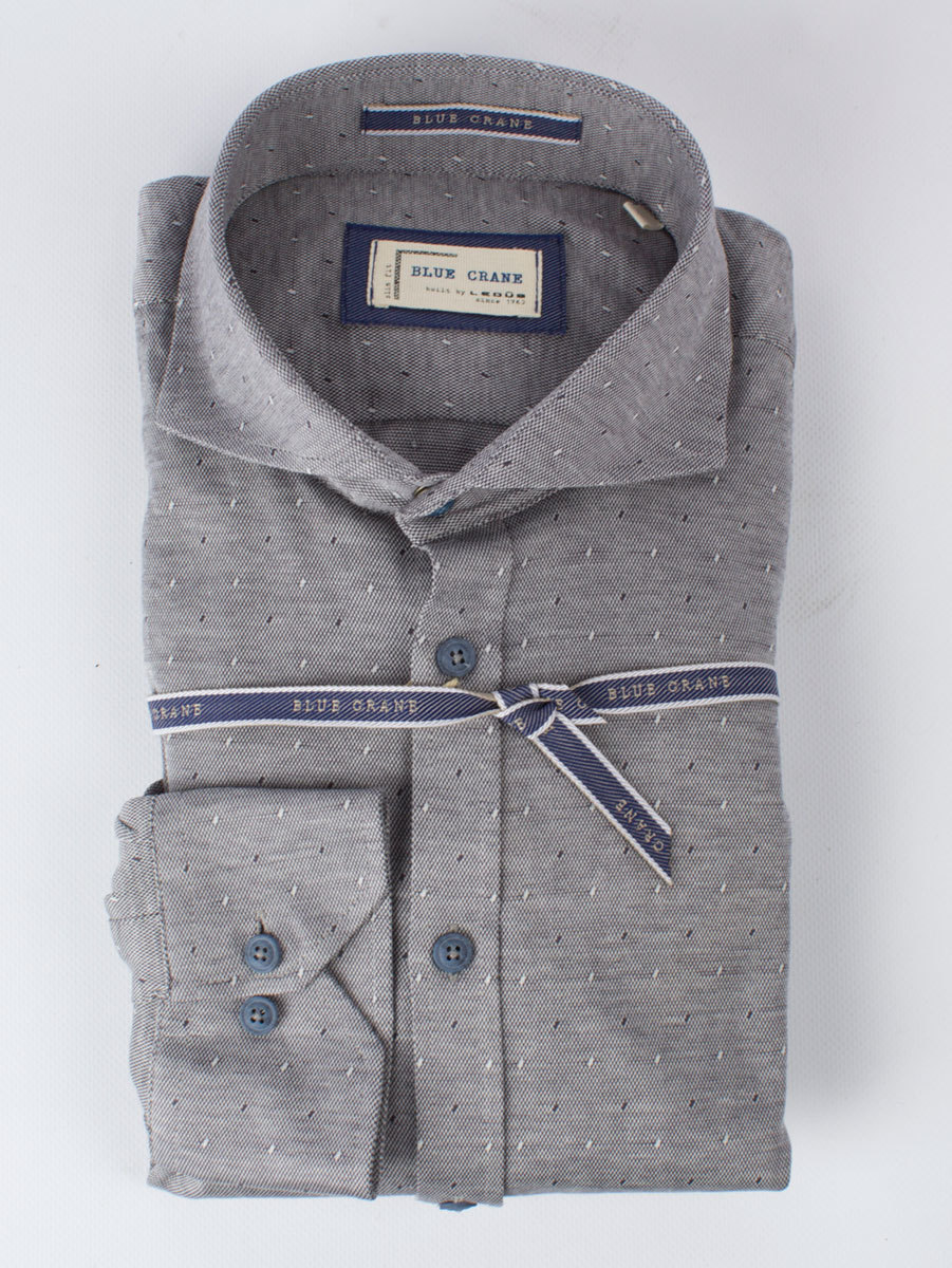 Рубашка Blue Crane slim fit 0136658-250-000-000-SF-Grey