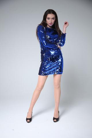 Шелковое платье выше колена недорого
