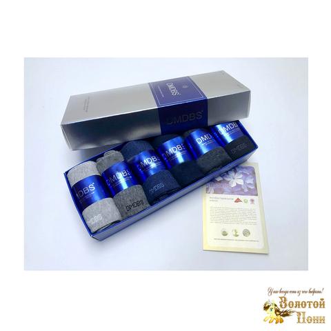 Носки мужские антибак/арома в коробке (42-48) 190108-AF-133/135