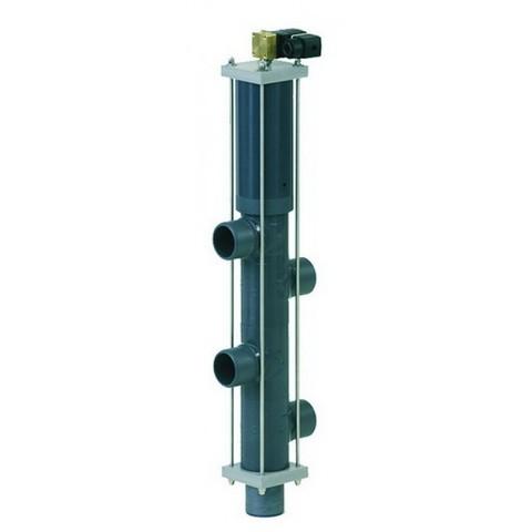 Автоматический вентиль Besgo 5-ти позиционный DN 125 диаметр подключения 140 мм 400 мм с электромагнитным клапаном 230В
