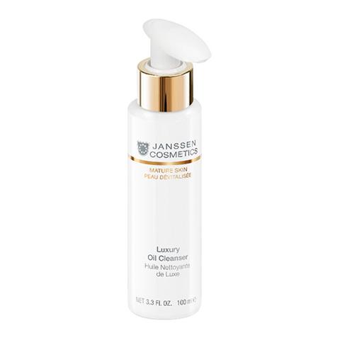 Очищающее масло для лица Luxury Oil Cleanser, Mature Skin, Janssen Cosmetics, 100 мл