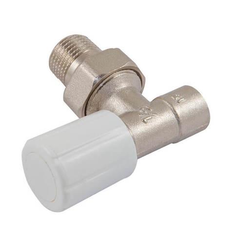 Ручной вентиль под пайку, угловой, DN 151/2GZ*15mm