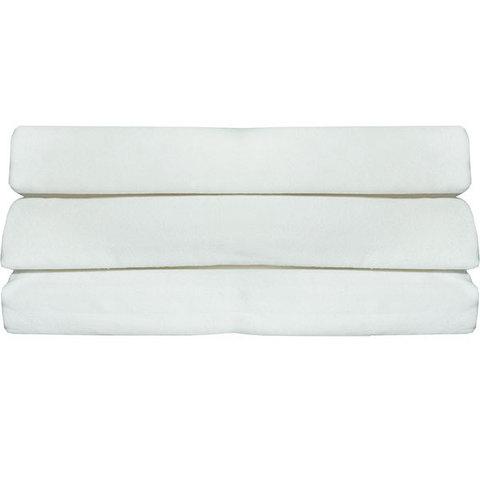 Папитто. Пеленка фланелевая белая, 120х90 см