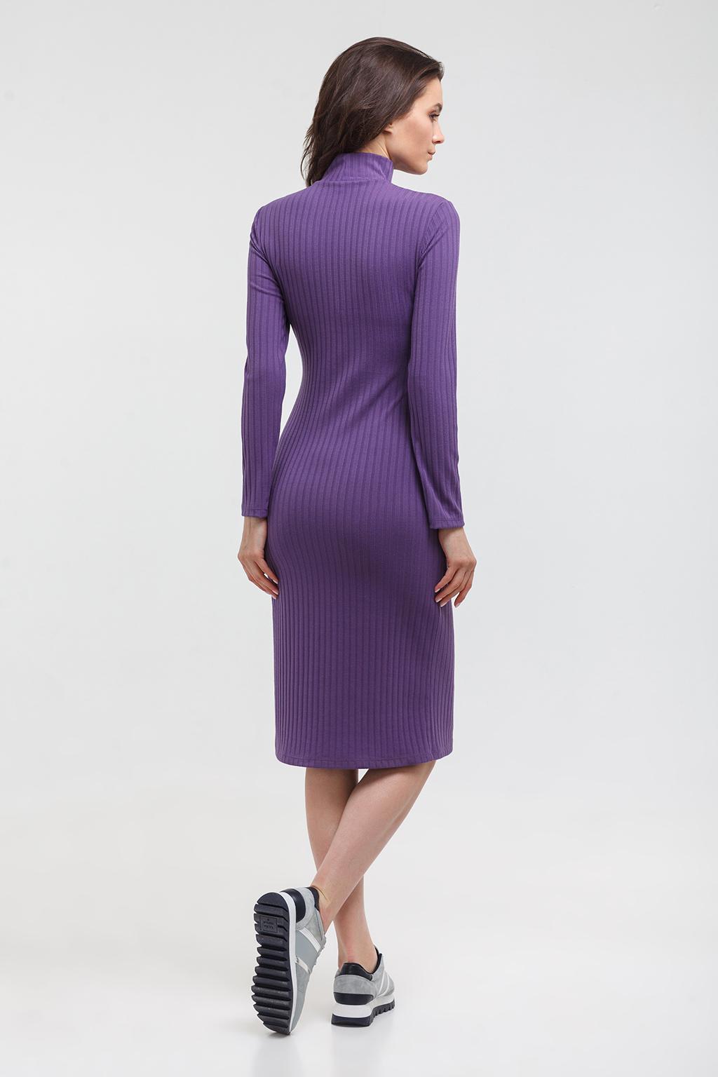 Платье-водолазка для будущих и кормящих мам - Фото 6
