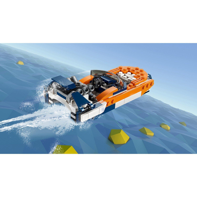 Конструктор LEGO Creator Гоночный автомобиль Оранжевый 31089