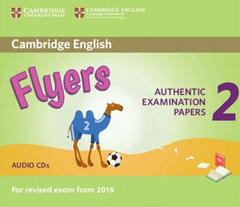 Cambridge English Flyers 2 for Revised Exam from 2018 Audio CDs лицензия