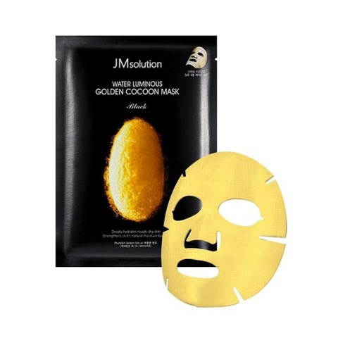 JMsolution Water Luminous Golden Cocoon Mask тканевая маска с протеинами кокона золотого шелкопряда