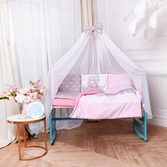 Комплект постельного белья для новорождённых Тедди панели 01-04