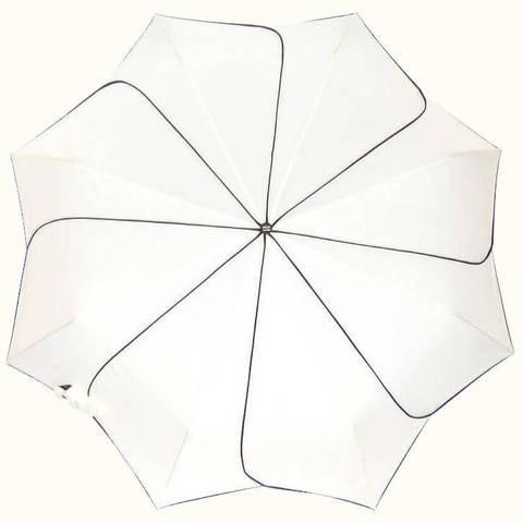 Солнечный цветок- зонтик автомат белые лепестки