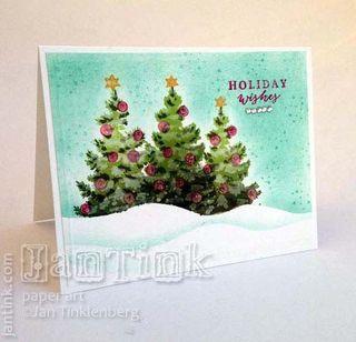 Набор многослойных штампов  a Christmas Tree