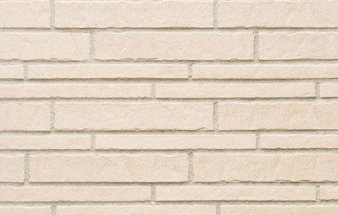 Stroeher - 351 kalkbrand, Zeitlos, состаренная поверхность, ручная формовка, 400x71x14 - Клинкерная плитка для фасада и внутренней отделки