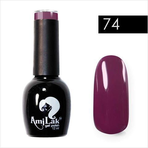 AmiLak Color Gel Polish №074