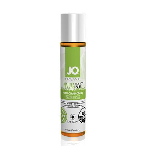 JO ORGANIC NATURALOVE, 30 ml Натуральный лубрикант на водной основе с ромашкой
