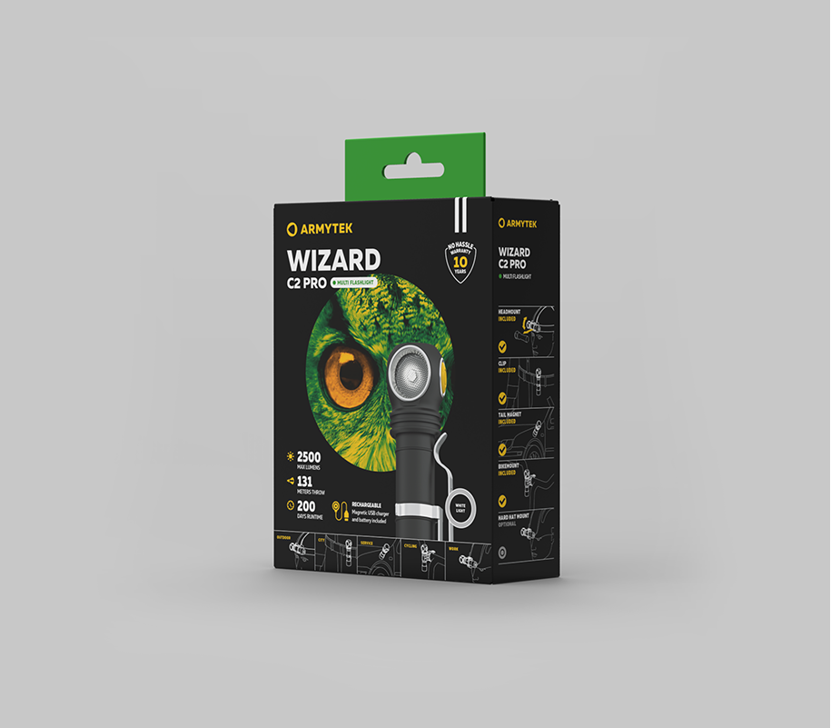 Мультифонарь Armytek Wizard C2 Pro Magnet USB XHP50.2 - фото 2
