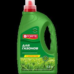 Минеральное удобрение для газонов от мха Bona Forte канистра 1,5л
