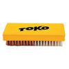 Картинка щетка Toko ручная, комбинированная, нейлон + медь, 14 мм  - 1
