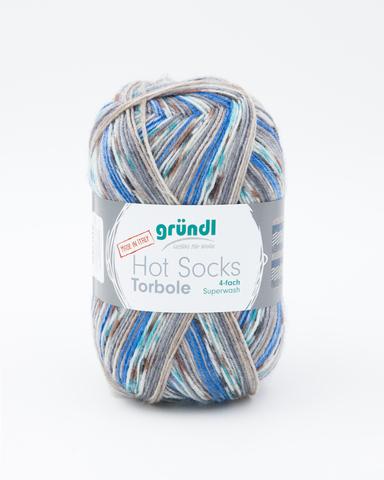 Носочная пряжа Gruendl Hot Socks Torbole 06 купить