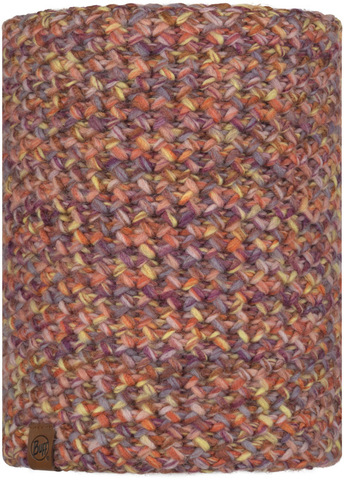 Вязаный шарф-труба с флисом Buff Neckwarmer Knitted Polar Margo Sweet фото 1