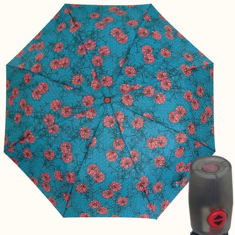 Зонт складной Perletti Chic 21227-1 Giglio Turchese