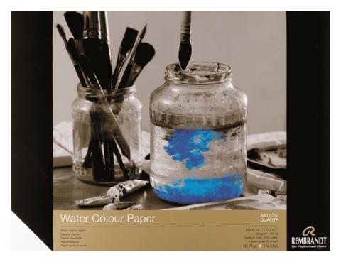 Альбом для акварели Rembrandt 300 г/м2 30*40см 20л 25% хлопок склейка по 4 сторонам
