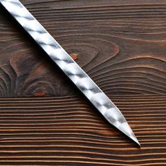 Шампур для люля-кебаб 18мм с деревянной ручкой, 50см