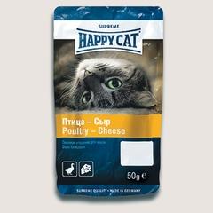 Лакомство для кошек Happy Cat с птицей и сыром