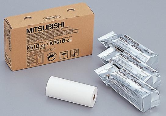 Mitsubishi K61B, бумага УЗИ для видеопринтеров  (Япония)
