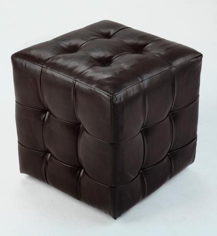 Пуф коричневый
