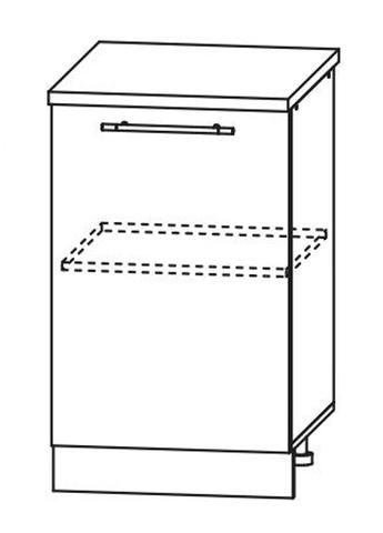 Кухня Империя С 450 Шкаф нижний