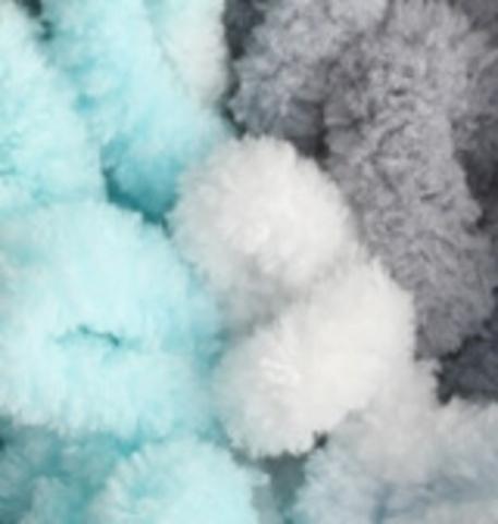 Пряжа Puffy Fine Color цвет 5939, фото