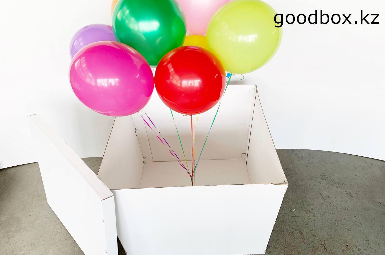 Большая подарочная коробка для подарка - сюрприза купить с доставкой по Казахстану