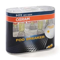 Лампа Osram H11 FOG Breaker  (2шт) DuoBox 12v-55w
